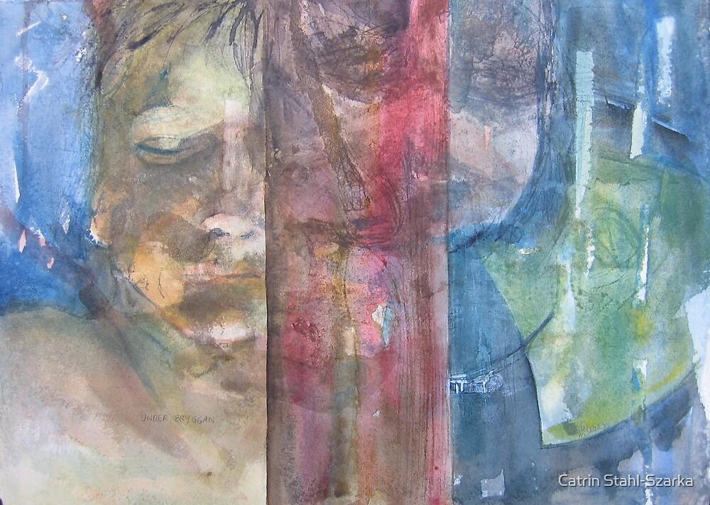 Under the pier by Catrin Stahl-Szarka