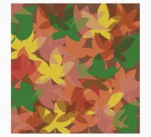 Colors of leaves Baby Tee