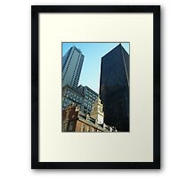 Boston, MA Framed Print