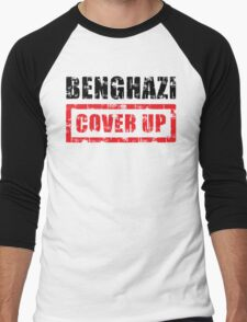 Benghazi Cover Up Men's Baseball ¾ T-Shirt