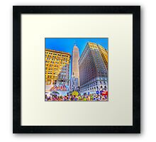 The Empire State Building at Sundown Framed Print