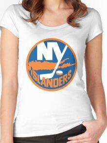 Islanders Women's Fitted Scoop T-Shirt