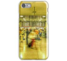 Rush hour at Penn Station New York, NY iPhone Case/Skin
