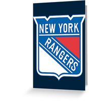 Rangers Greeting Card