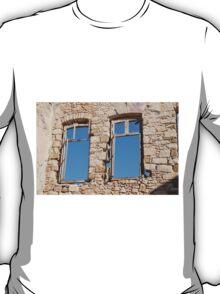 Old window on Halki T-Shirt