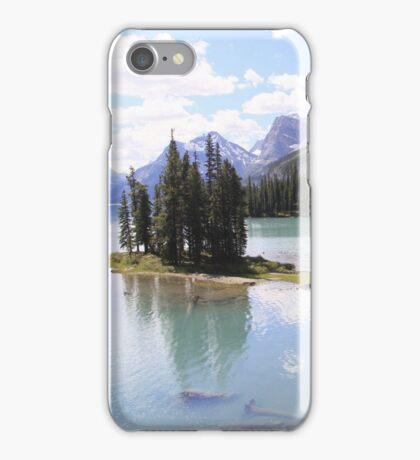 Spirit Island, Maligne Lake, Canada. iPhone Case/Skin