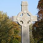 Autumn Celtic Cross by Marie Sharp