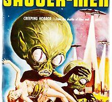 Invasion of the Saucer Men Vintage by Vintage Designs