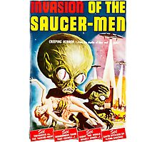 Invasion of the Saucer Men Vintage Photographic Print