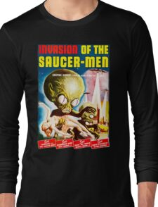 Invasion of the Saucer Men Vintage Long Sleeve T-Shirt