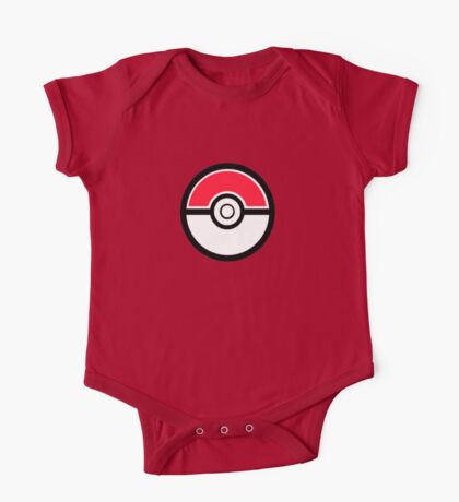 Pokemon Pokeball 1 One Piece - Short Sleeve