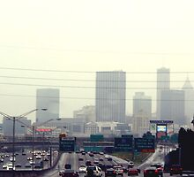 Atlanta Skyline by brookexx09