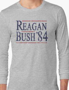 Retro Reagan Bush '84 Election Long Sleeve T-Shirt