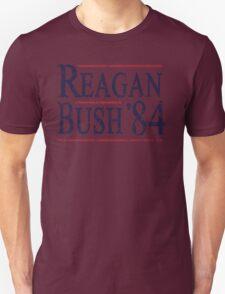Retro Reagan Bush '84 Election T-Shirt