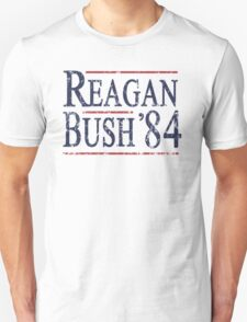 Retro Reagan Bush '84 Election T-Shirt