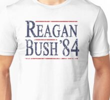 Retro Reagan Bush '84 Election Unisex T-Shirt