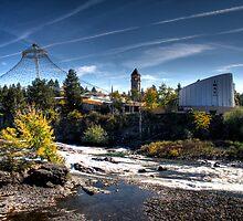 Spokane Riverfront Falls by Arelle Hall