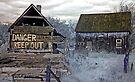 Danger, Keep Out! 1 - Portage-Du-Fort, Quebec by Debbie Pinard