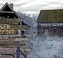 Danger, Keep Out! 1 - Portage-Du-Fort, Quebec by Debbie Pinard