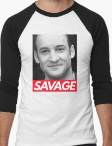 Stay Savage Men's Baseball ¾ T-Shirt