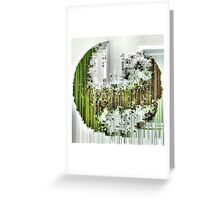 Earth Shattering Greeting Card