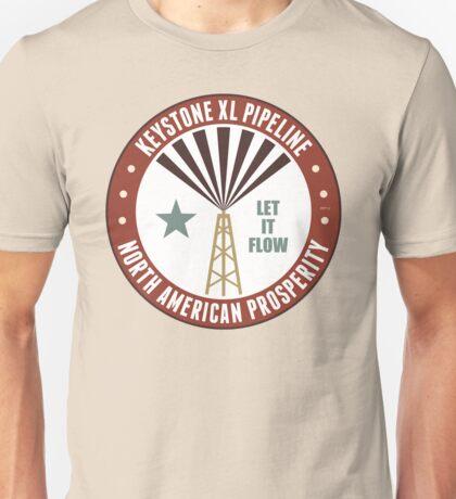 Keystone XL Pipeline Unisex T-Shirt