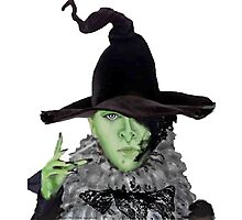 Wicked North Witch ME Photographic Print