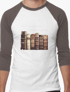 Don't Speak Latin in Front of the Books Men's Baseball ¾ T-Shirt