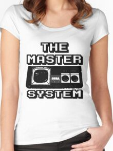 cool sega Master System pad Tshirt Women's Fitted Scoop T-Shirt