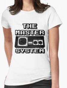 cool sega Master System pad Tshirt Womens Fitted T-Shirt