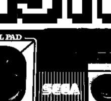 cool sega Master System pad Tshirt Sticker