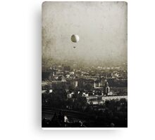 Flying over you Canvas Print
