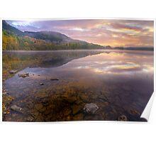 Loch Achray Sunrise Poster