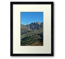 who dares... Framed Print