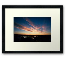 Dungarvan Morning  Framed Print