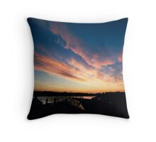 Dungarvan Morning  Throw Pillow
