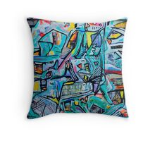 Transit Throw Pillow