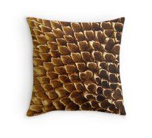 Spent - Sunflower Seed Head Throw Pillow