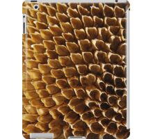 Spent - Sunflower Seed Head iPad Case/Skin