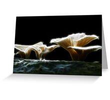 Fungal Light Greeting Card