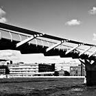 St Pauls & Millennium Bridge by Darren Bell