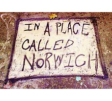 Norwich- Urban Art Photography Photographic Print