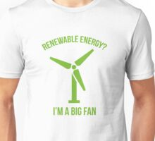 Renewable Energy Unisex T-Shirt