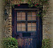 BLUE DOOR by ©FoxfireGallery / FloorOne Photography