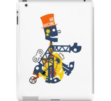 1960 mr machine geek funny nerd iPad Case/Skin