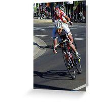Cadel Evans Greeting Card