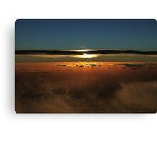 Sunset Over The Great Australian Bight  Canvas Print
