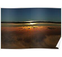 Sunset Over The Great Australian Bight  Poster