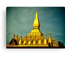 Laos Temple Canvas Print