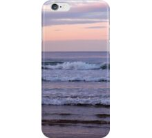 The Waves of Bamburgh iPhone Case/Skin